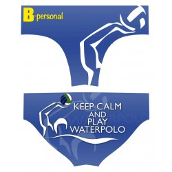 Costume Uomo Waterpolo KEEP CALM......